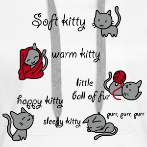 Soft Kitty Pullover & Hoodies - Frauen Premium Hoodie