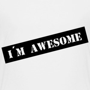 I´m Awesome / Ich bin großartig / fantastisch 1c Shirts - Teenager Premium T-shirt