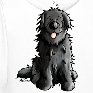 Newfoundland - Dog - Dogs - Newfi - Newf - Cartoon Hoodies & Sweatshirts - Men's Premium Hoodie