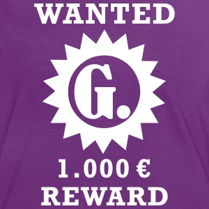 WANTED G PUNKT - Frauen Kontrast-T-Shirt