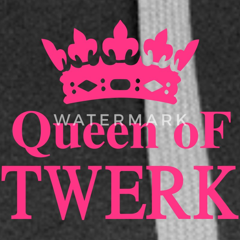Queen of TWERK Sweat-shirts - Veste à capuche Premium Femme