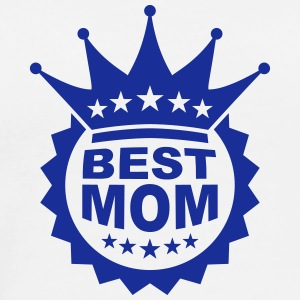 Worlds Best Mom T-shirts - Herre premium T-shirt