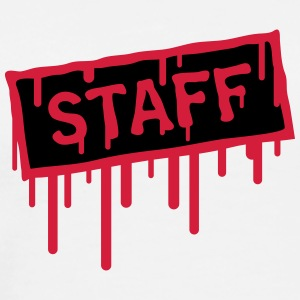 Staff Stamp T-Shirts - Men's Premium T-Shirt