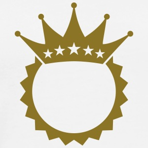 King Crown Design T-shirts - Mannen Premium T-shirt
