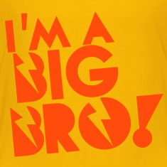 I'm a BIG BRO (Brother) Shirts