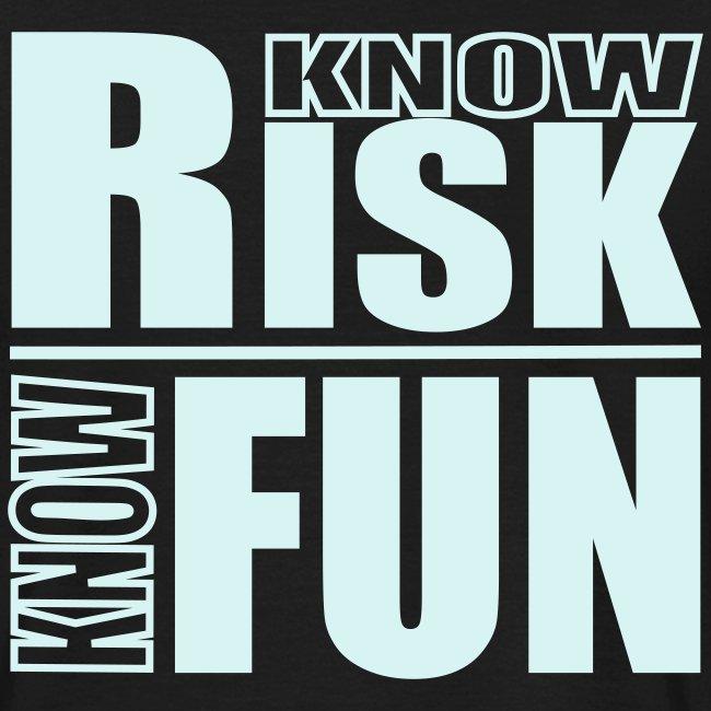know risk / know fun - reflektierend (men)