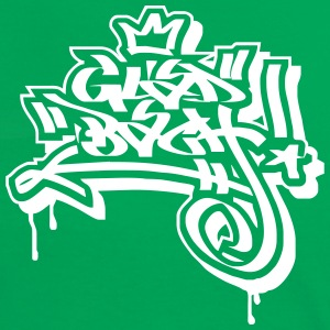 Gladbach Graffiti Ultras Fan Shirt - Frauen Kontrast-T-Shirt