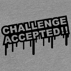 Challenge Accepted Graffiti T-shirts - Premium-T-shirt dam