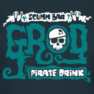 Diseño ~ Monkey Island: Scumm Bar Grog (+Recipe on back)