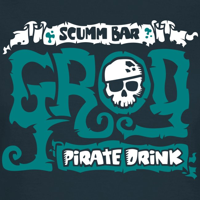 Monkey Island: Scumm Bar Grog (+Recipe on back)