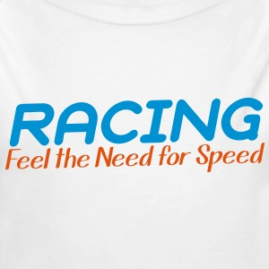 RACING - i feel the need for SPEED! Hoodies - Longlseeve Baby Bodysuit
