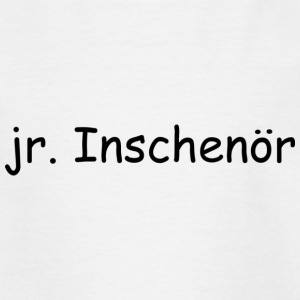 jr. Inschenör - Kinder T-Shirt