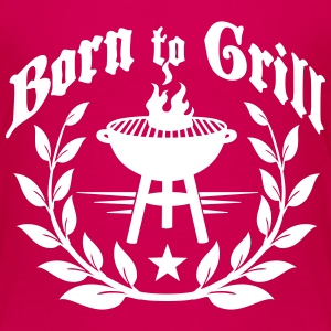 Born to Grill T-shirts - Premium-T-shirt barn