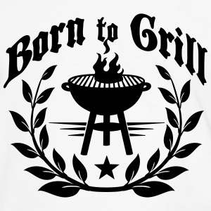 Born to Grill T-Shirts - Men's Ringer Shirt