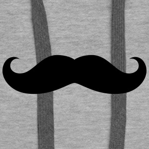 moustache originale Sweat-shirts - Sweat-shirt à capuche Premium pour femmes