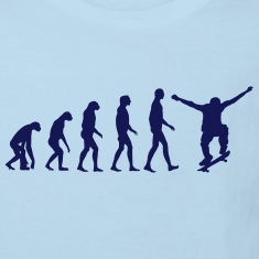 skate evolution Shirts
