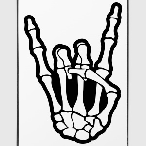 skull rock hand Phone & Tablet Cases - iPhone 4/4s Hard Case