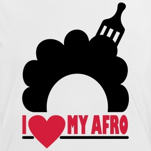 I Love My Afro T-Shirts - Women's Ringer T-Shirt