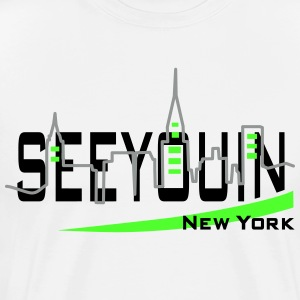 see you in - newyork T-Shirts - Männer Premium T-Shirt