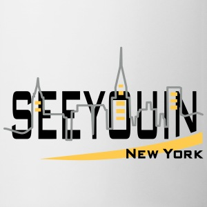 see you in - newyork Bottles & Mugs - Mug