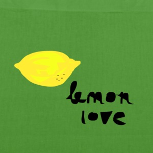lemon love.png Bags & backpacks - EarthPositive Tote Bag