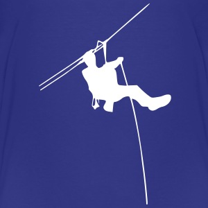 ropes course Shirts - Teenage Premium T-Shirt