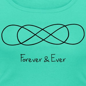 Double Infinity : Forever and Ever Top - Women's Scoop Neck T-Shirt