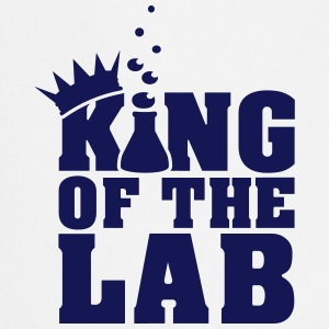 king of the lab (c, 1c)  Aprons - Cooking Apron