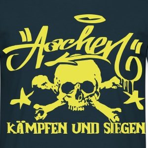 Aachen Graffiti Ultras Tattoo Shirt Style - Männer T-Shirt