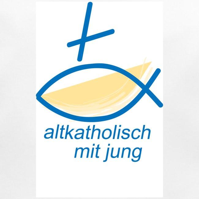Glauben feiern - gelb blau weiss