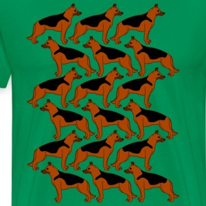 german shepherds T-shirts - Premium-T-shirt herr