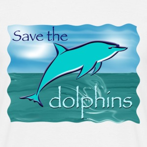 Save the dolphins - Men's T-Shirt