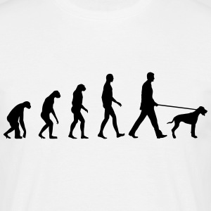 Evolution Dog T-shirts - Herre-T-shirt