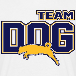 Team Dog T-shirts - Herre-T-shirt