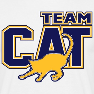 Team Cat T-shirts - T-shirt herr