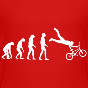 bmx evolution T-Shirts - Teenager Premium T-Shirt