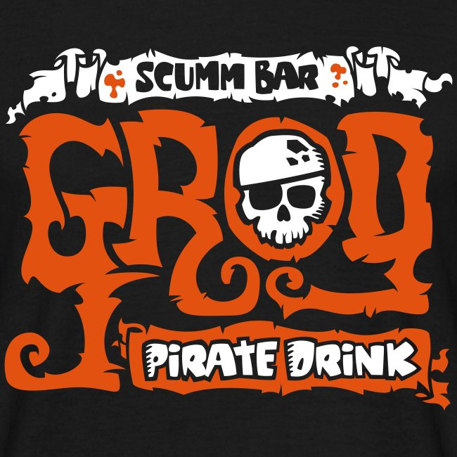 Monkey Island: Scumm Bar Grog (+ Recipe on back)