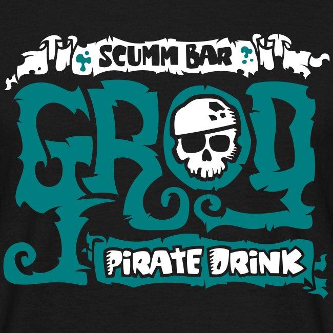 Monkey Island: Scumm Bar Grog (+ Recipe on back)