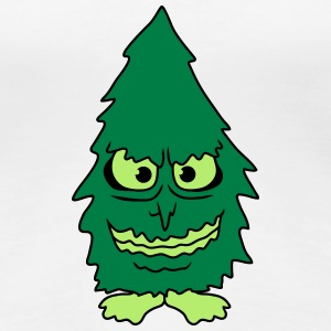 Tree Monster T-shirts - Vrouwen Premium T-shirt
