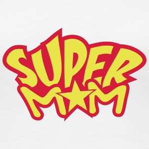Super Mom T-skjorter - Premium T-skjorte for kvinner