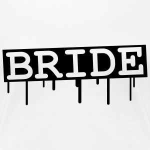 Bride Graffiti Design T-Shirts - Women's Premium T-Shirt