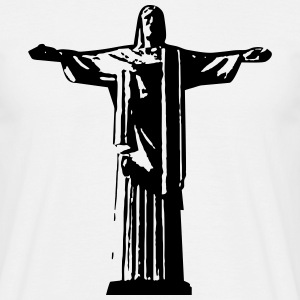 Christ the Redeemer in Rio de Janiero  T-Shirts - Men's T-Shirt