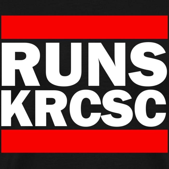 Black KRCSC Run DMC T-shirt