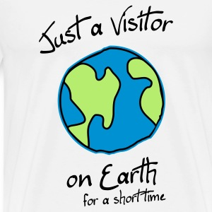 Visitor on Earth (JESUS shirts) - Männer Premium T-Shirt