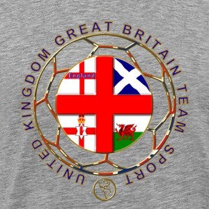 Great Britain team sport T-Shirts - Men's Premium T-Shirt