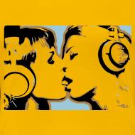 Design ~ Kissing Headphone girls