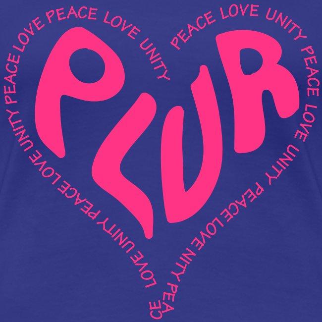 PLUR Rave t-shirt - Peace Love Unity Respect