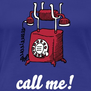 call me - Frauen Premium T-Shirt