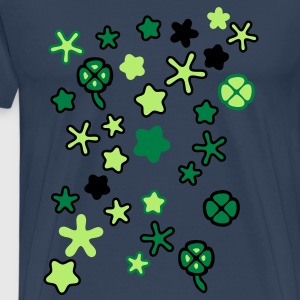 Flowers Saint Patricksday T-Shirts - Men's Premium T-Shirt