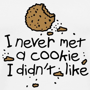 I never met a cookie T-shirts - Herre premium T-shirt